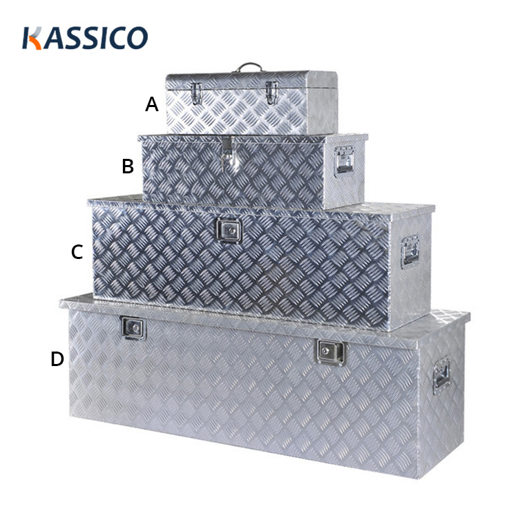 Aluminum Truck Tool Box for Pickup, Trailer, Camper Caravans