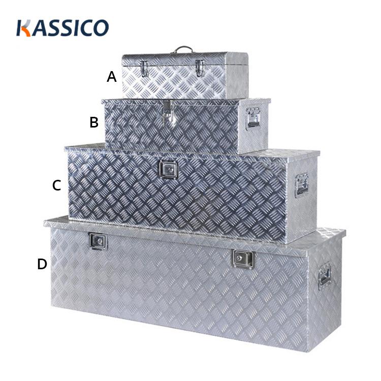 Aluminum Truck Tool Box for Pickup, Trailer, Camper Caravans