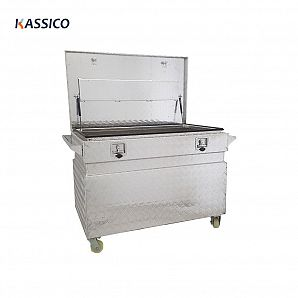 Aluminium Job Site Tool Box for Ute Trailer Truck