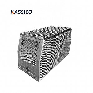 Aluminum Dog Box Cage for UTE Canopy Tool Box