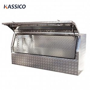 1800mm Aluminum Truck Tool Box for UTE 3/4 Opening