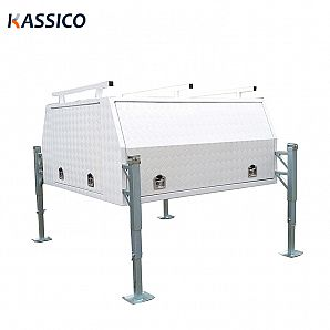 Aluminum Truck Tool Box With JackOff Legs